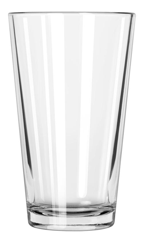 MIXING/PINT GLASS, 16OZ 2DZ/CS